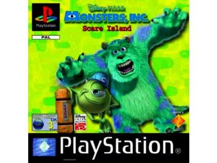 PS1 Disney Pixar's Monsters, Inc. Scare Island