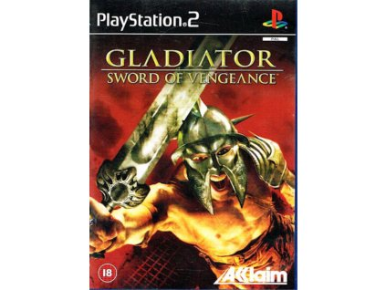 PS2 Gladiator Sword of Vengeance