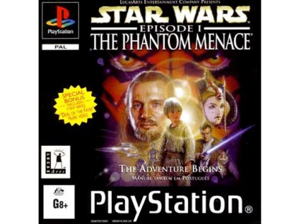 PS1 Star Wars: Episode I – The Phantom Menace