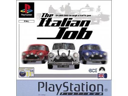 PS1 The Italian Job Platinum