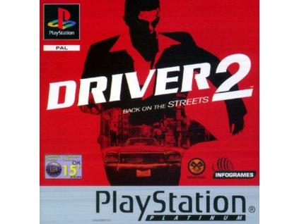PS1 Driver 2 Platinum
