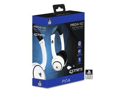 PS4 / PS VITA 4Gamers PRO4-40 herní sluchátka