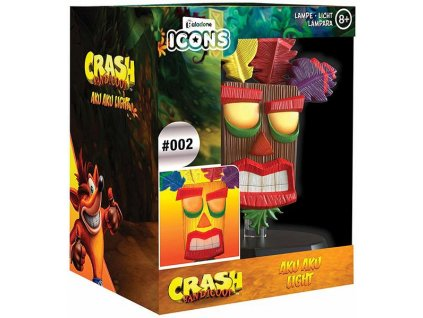 3D světlo Crash Bandicoot Aku Aku