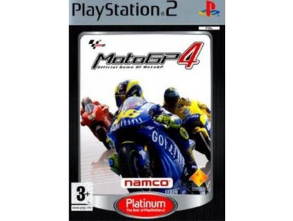ps2 moto gp 4 platinum