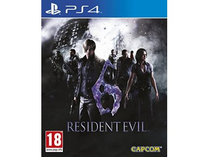 PS4 Resident Evil 6 HD playstation hits