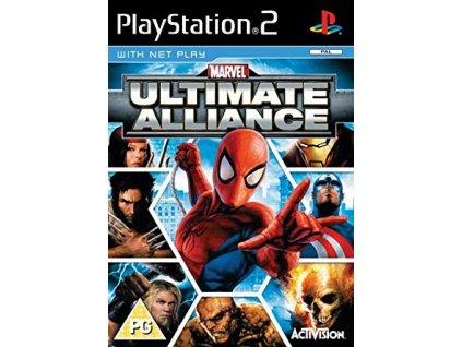 PS2 marvel ultimate alliance
