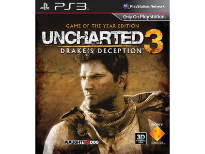 PS3 Uncharted 3 : Drakes Deception GOTY CZ