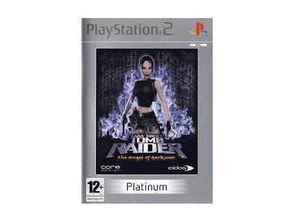 PS2 Tomb Raider The Angel of Darkness platinum