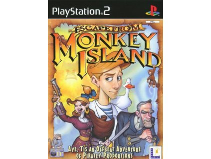 PS2 escape from monkey island