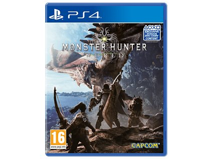 PS4 Monster Hunter World (nová)