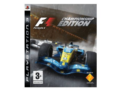 PS3 Formula One Championship Edition