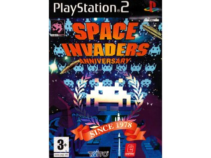 PS2 Space Invaders Anniversary