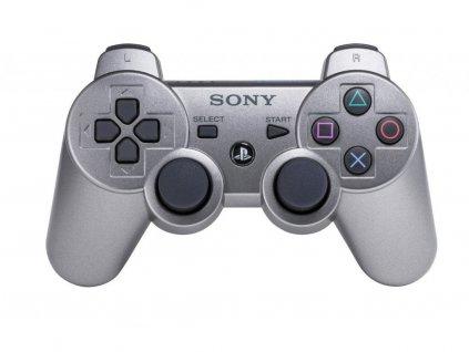 PS3 Sony DualShock 3 Originální bezdrátový ovladač silver