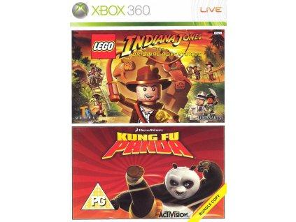 kungfu panda + lego indiana jones