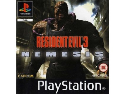 ps1 resident evul 3 nemesis