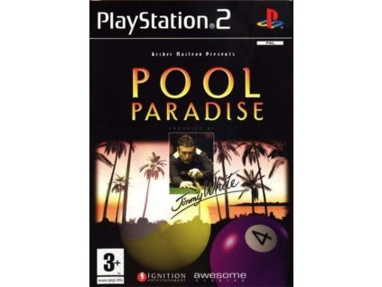 PS2 Pool Paradise