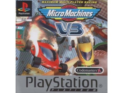PS1 micro machines platinum