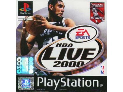 PS1 NBA Live 2000