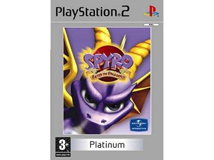 PS2 Spyro Enter the Dragonfly Platinum