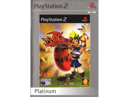 PS2 JAK and Daxter The Precursor Legacy Platinumi