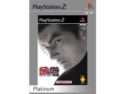 PS2 Tekken Tag Tournament Platinum