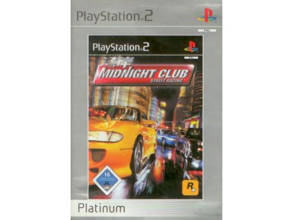 PS2 Midnight Club Street Racing Platinum