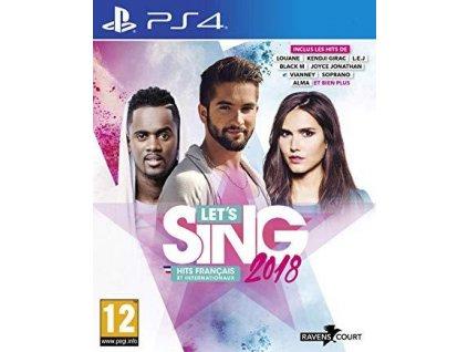 PS4 Lets Sing 2018 (nová)