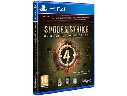 PS4 Sudden Strike 4 Complete Collection