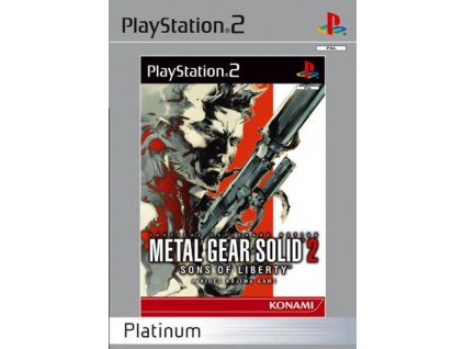 PS2 Metal gear solid 2 sons of liberty Platinum