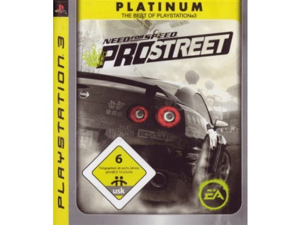 PS3 Need for Speed Pro street Platinum
