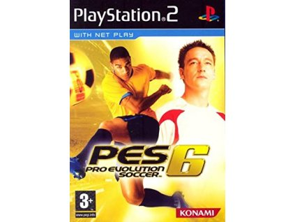 PS2 Pro Evolution Soccer 6