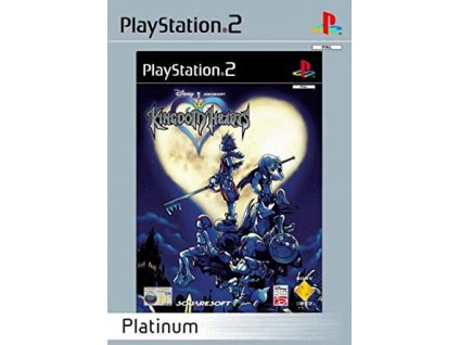 PS2 Kingdom Hearts Platinum