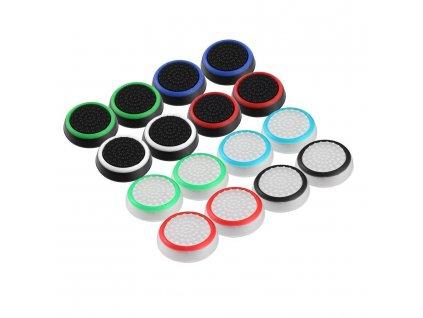 Siliknové kloboučky na analogové páčky pro Playstation a Xbox