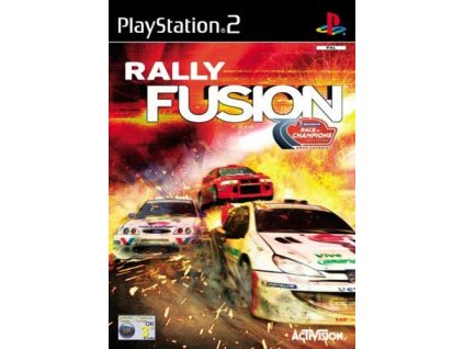 PS2 Rally Fusion Race of Champions