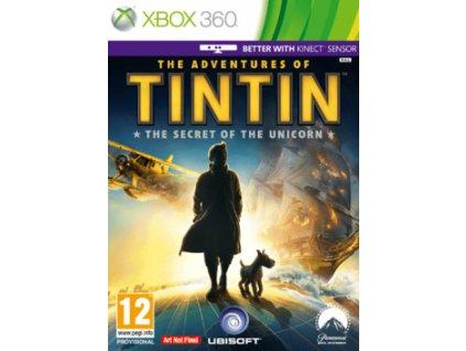 XBOX 360 The Adventures Of Tintin: The Secret Of The Unicorn
