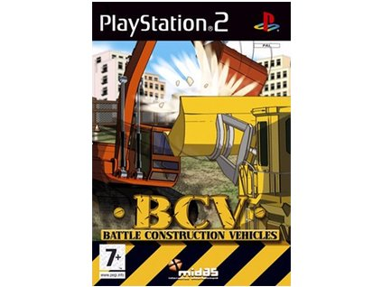 ps2 bcv battle construction vehicles