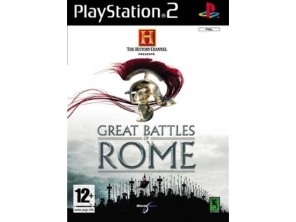 History Channel Great Battles of Rome (PS2)