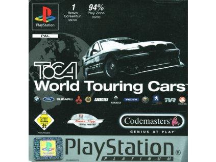 PS1 TOCA World Touring Cars PLATINUM