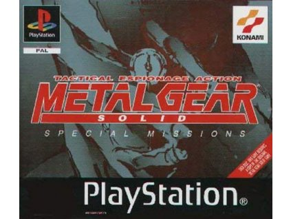 PS1 Metal Gear Solid: Special Missions