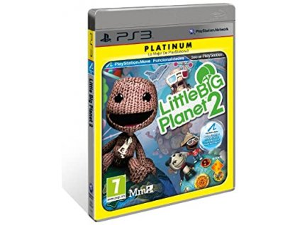 PS3 Little Big Planet 2 PLATINUM