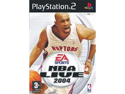 PS2 NBA Live 2004