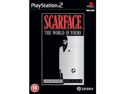ps2 scarface collector