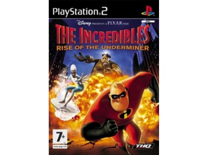 PS2 The Incredibles Rise of the Underminer
