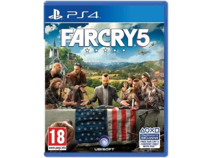 PS4 Far Cry 5 CZ (nová)