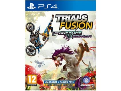 PS4  Trials Fusion (The Awesome Max Edition) Nová