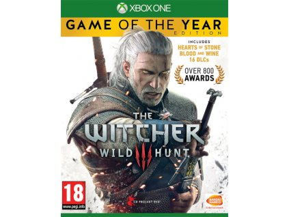 XBOX ONE The Witcher 3: Wild Hunt GOTY EDITION CZ
