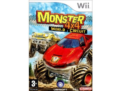 Wii Monster 4x4: World Circuit