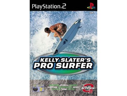 PS2 kelly pro surfer skater