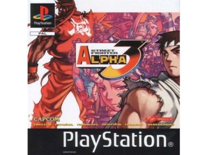 PS1 Street Fighter Alpha 3