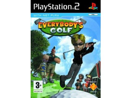 ps2 everybodys golfd